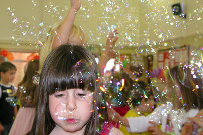 Bubble party!