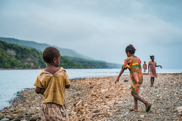 Vanuatu, Erromango, Dillon's Bay (William's Bay), Children