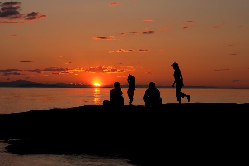 Sunset Sillouete