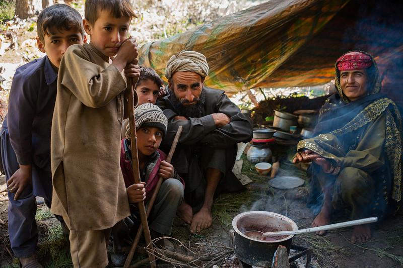 Gujjars the nomadic tribe, India