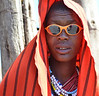 Maasai with Sunglasses