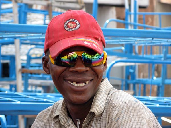 Happy Guy, Kampala, Uganda, 2008