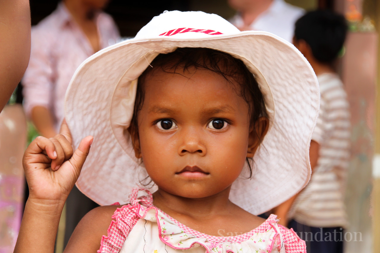 Beautiful Khmer Child