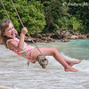 Girl on a Swing at Boston Bay, Jamaica