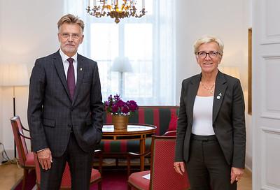 Anders Danielson governor of Västra Götaland & Kerstin Lundgren, Third Vice-President Sweden