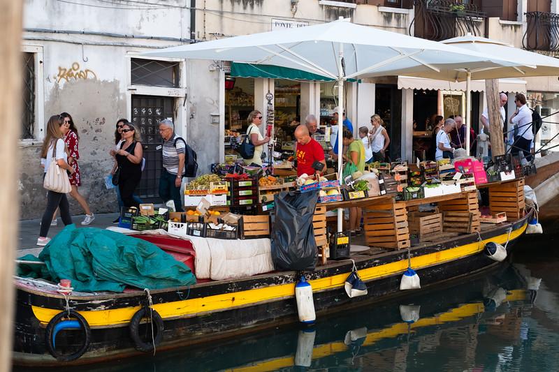 Venice Market Boat