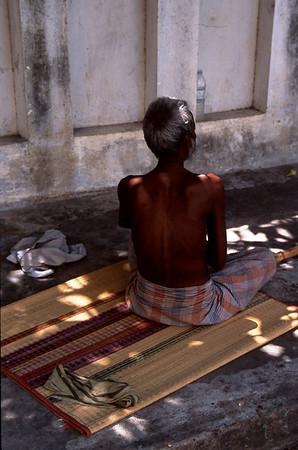 Resting in Pondicherry, India