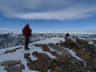 Quandry Peak Skiing