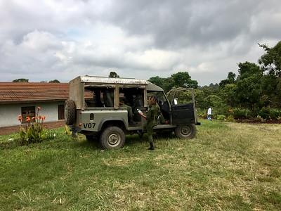 Kibati ranger station | Virunga National Park - Congo DR | May 2017 |