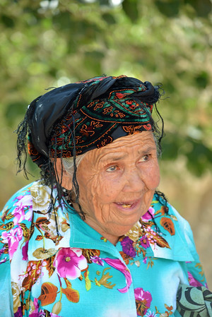 Old Uzbeki Woman