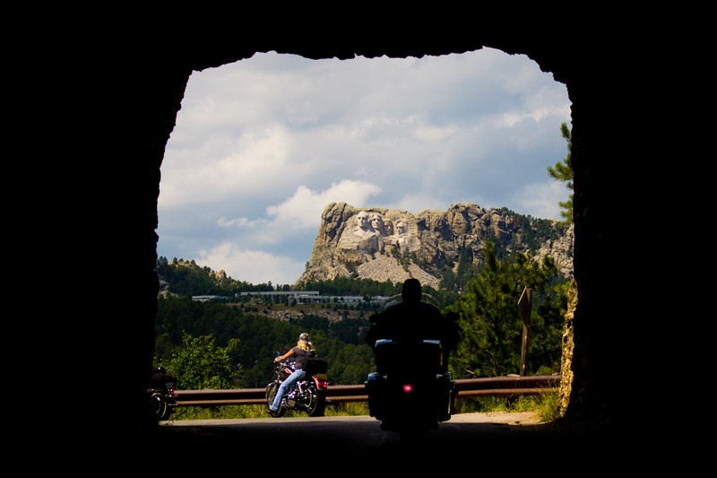 Christie Irvin in Custer State Park, South Dakota USA