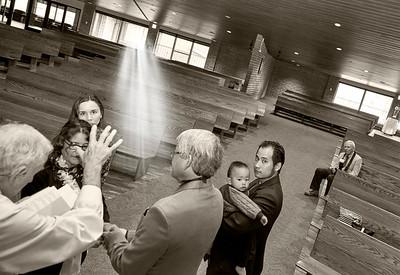Blessing at Church