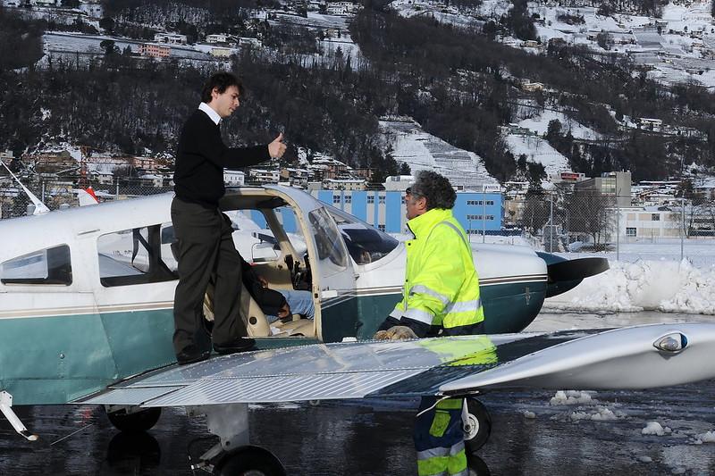 Lugano Airport - 06.02.2010