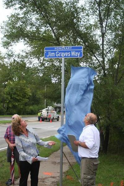 Street Sign Dedication