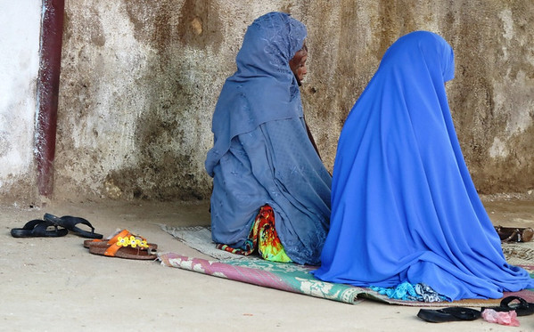 Women Praying in Harar
