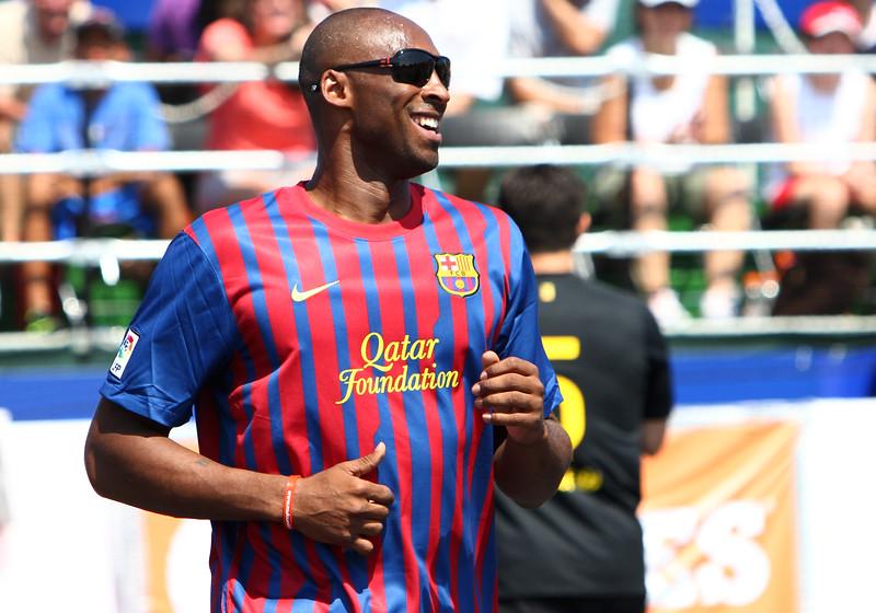 Kobe Bryant FC Barcelona