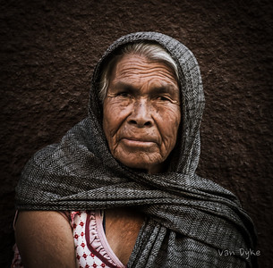 Beautiful Street Woman