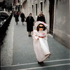 Enroute to a Carnival, Venice, February 1973