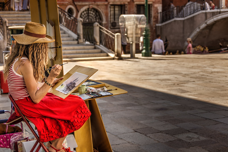 The Artist in the Campo