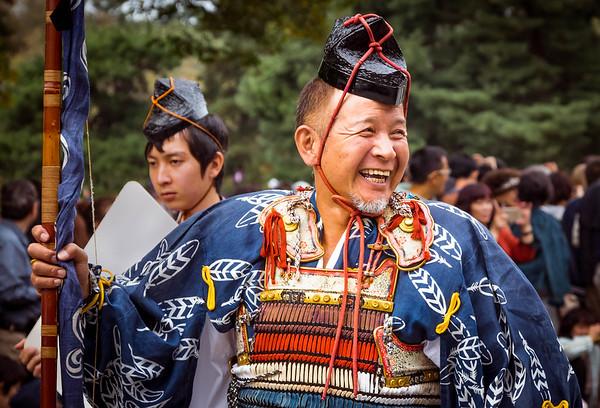 Samurai - Jidai Matsuri  - Kyoto, Japan