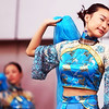 traditional Chinese dancers in Shanghai.