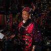 Miao minority lady from Yunnan, Panjiayuan market, Beijing
