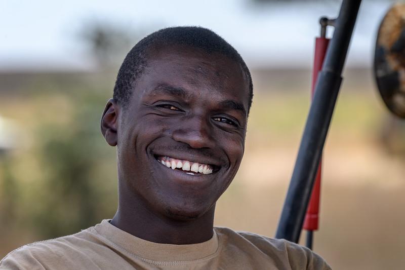 Dominik, Tanzania driver and guide, Ndutu, Tanzania