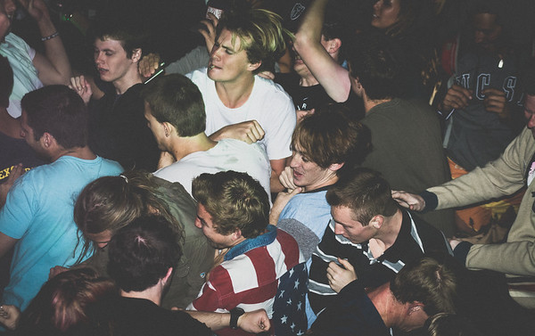 UCSB Students in Isla Vista Concert