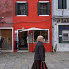 The coincidence of color in Burano, Italy