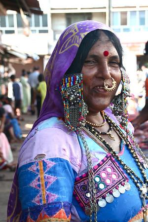 Tribal woman, Goa, India