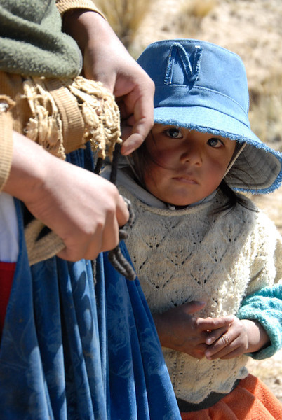 Young Girl in Bolivia