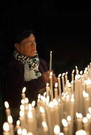 Woman Praying in the Duomo
