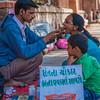 Street Dentist, Vadodara, Gujarat, India
