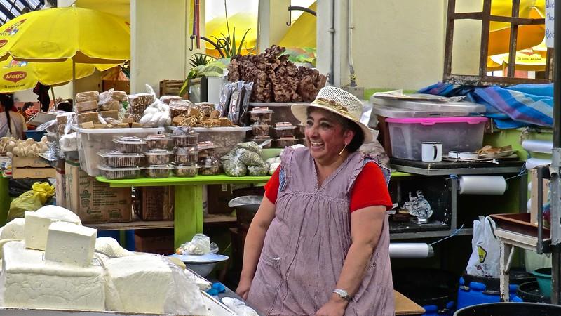 The market - Cuenca