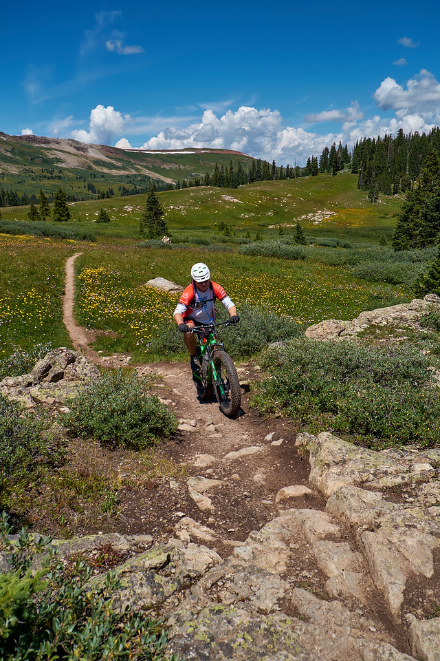 Fat Biking Searle Pass