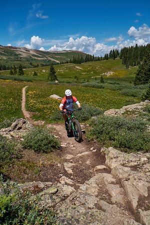 Fat Biking Searle Pass