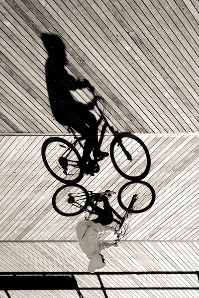 BikeShadow, Atlantic City, NJ, 2012.