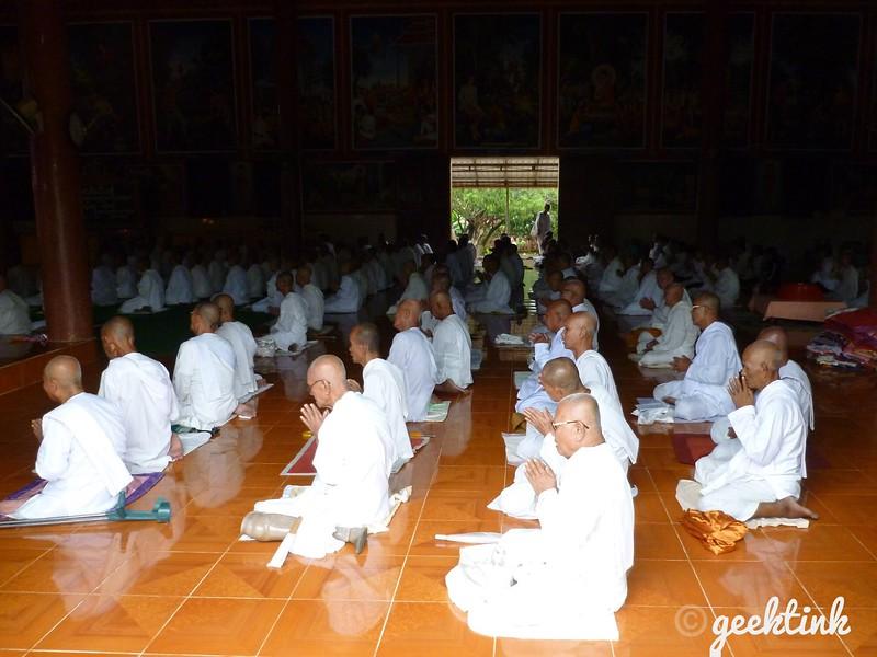 Wat Langka Buddhist Temple in Phnom Penh
