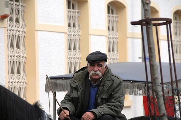 Horse Cart Driver, Buyuk Ada, Istanbul, Turkey