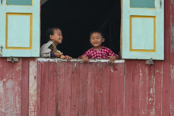 Happy children, Myanmar