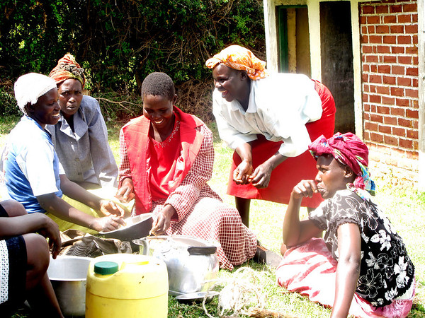 Cooking, Laughing, and Talking<br /> Kepkeren, Rift Valley, Kenya