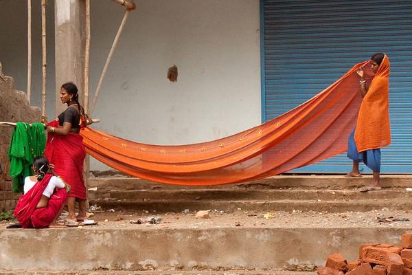 Quite a sari