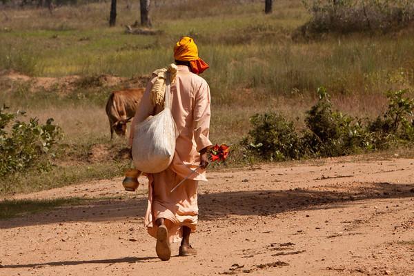 Traveling sadhu