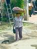 Village local in Cambodia