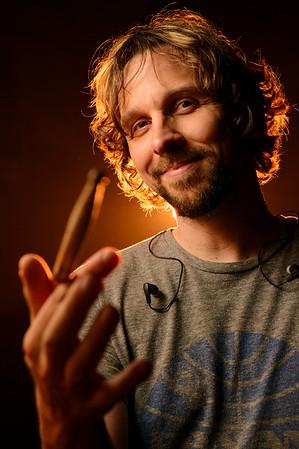 Marco Minnemann, Musician, Studio Portrait