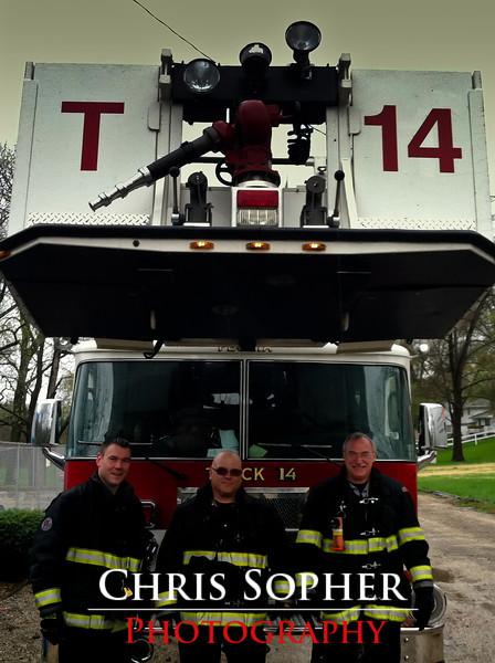 Peoria Fire Dept Truck 14
