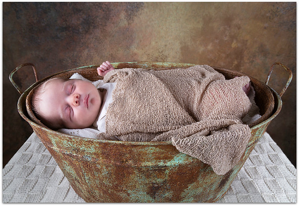 Baby in the bath