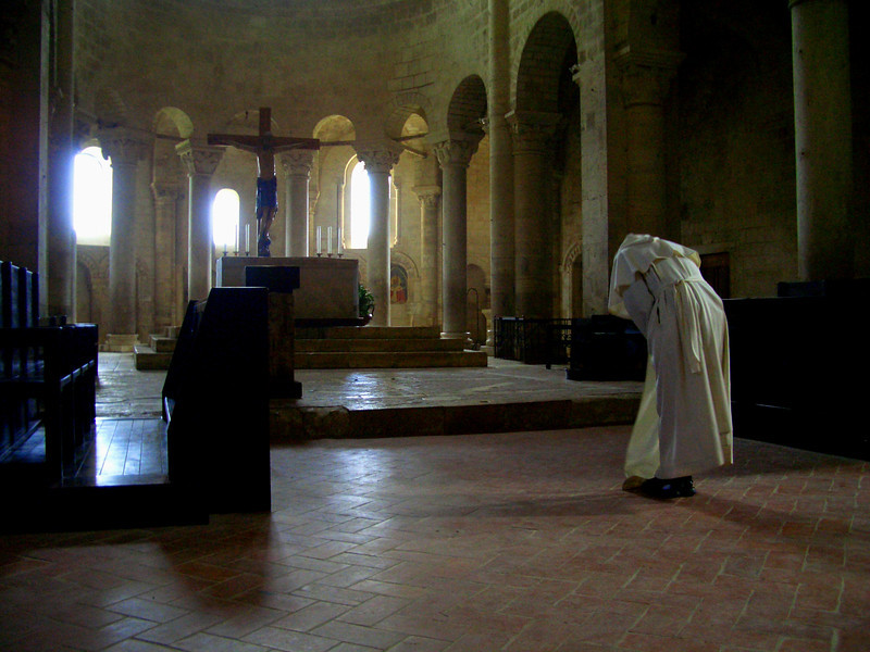 St. Antimmo Abbey Monk Italy