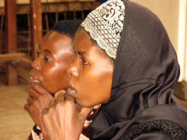 Women waiting in KCCC Clinic, Kampala, Uganda, 2008