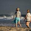 Beach Friends at Golden Hour